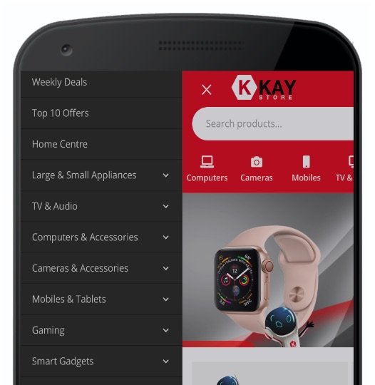 Mobile Application ecommercepro